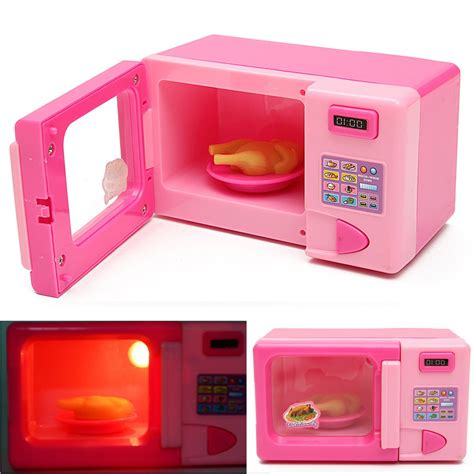 Plastic For Pink plastic pink microwave oven children home