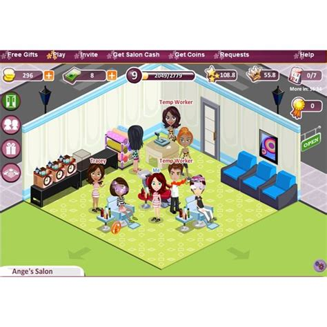 virtual hairstyles games salon street review more than a free nail salon game