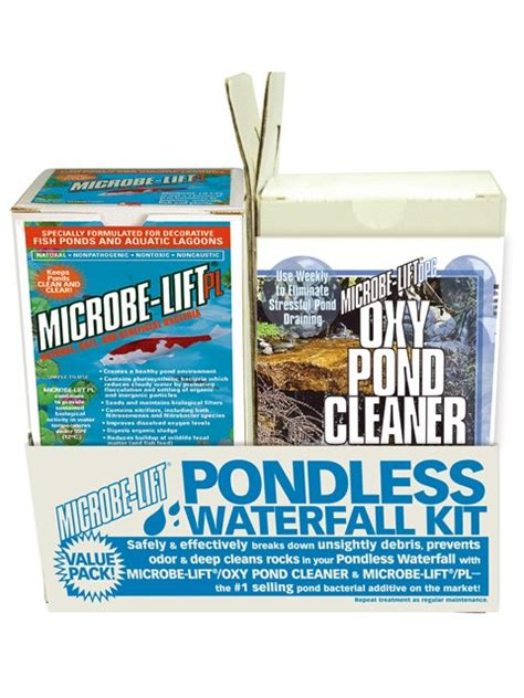 aquascape pondless waterfall kit microbe lift pondless waterfall kit pwk