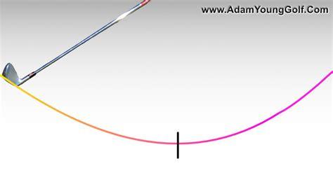 golf swing arc strike the golf ball better understanding low point