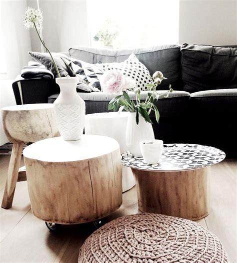 Tronchi Legno Design by Arredare Casa Con I Tavolini In Tronco Di Legno Naturale