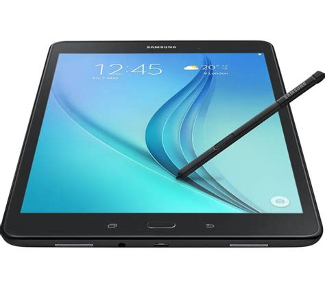 buy samsung galaxy tab a 9 7 quot tablet s pen 16 gb black free delivery currys
