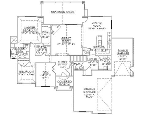 custom rambler floor plans rambler house plans with basements professional house