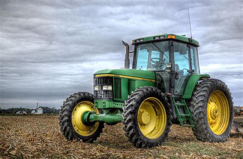 The Green Tractor big green tractor photograph by robert jones