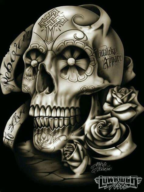 imagenes de calaveras gangster lowrider arte lowrider art pinterest drawings style