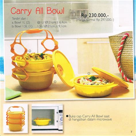 Tupperware Carry All Bowl carry all bowl tupperware promo oktober 2014
