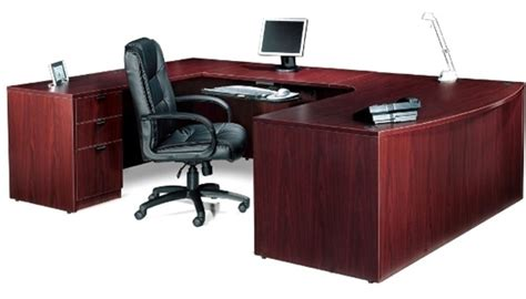u shaped executive desk with drawers sl7148bcl