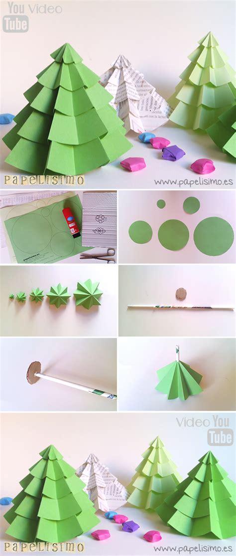 como adornar un arbol de navidad de papel 193 rbol de papel navidad papelisimo