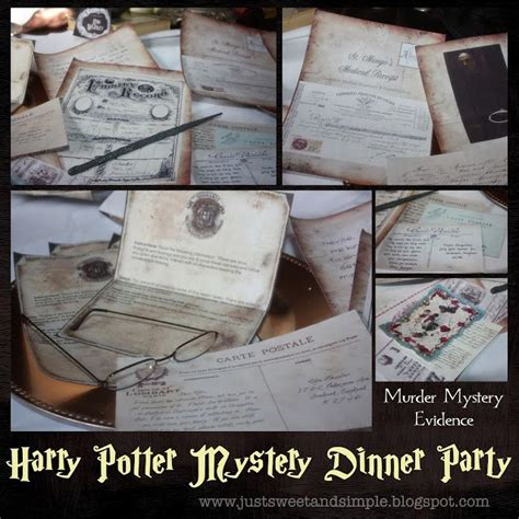 free downloadable murder mystery dinner 1000 images about harry potter c on
