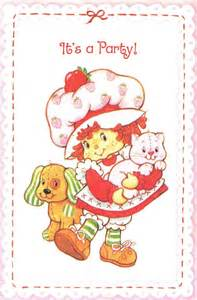 Vintage strawberry shortcake 1st birthday party minted and vintage