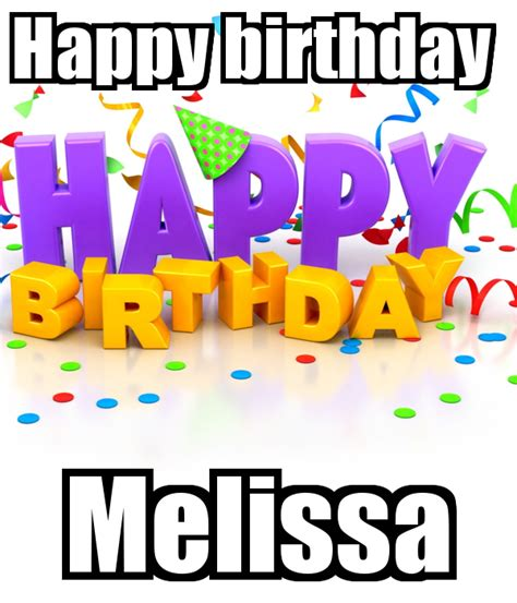 imagenes de happy birthday melissa happy birthday melissa poster aisha sumareh keep calm
