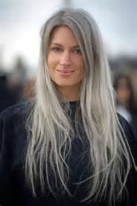 Grey hair is a top beauty trend for 2015 and i m way ahead