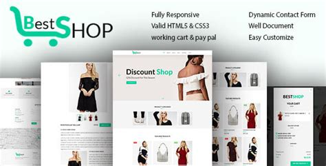 Bestshope One Page Mini Ecommerce Shop Templates Nulled Download One Page Shopping Cart Template
