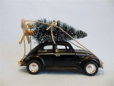black bugs on christmas tree classic black vw beetle bug with tree by maggiesklosets on etsy handmades