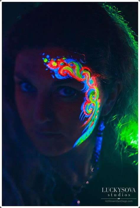 glow in the dark tattoo san diego 17 best ideas about rave face paint on pinterest tribal