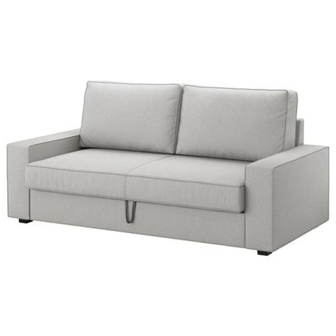 Ikea Schlafcouch by Vilasund Marieby 3 Seat Sofa Bed Orrsta Light Grey Ikea