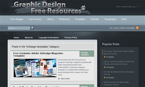 The Ultimate Indesign Toolbox Noupe Indesign Web Page Template