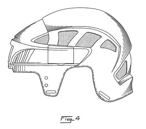 helmet design patents patent usd592808 hockey helmet google patents