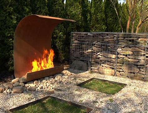 Fireplace Features by Outdoor Features Ideas From Colombo
