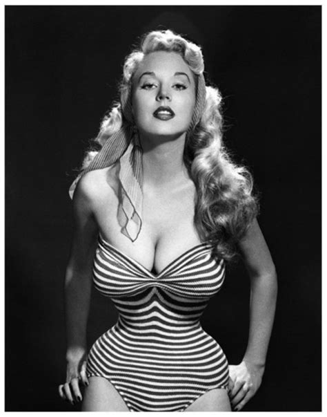 Betty Davis Daughter by Betty Brosmer Quot The With The Impossible Waist Quot 1950s