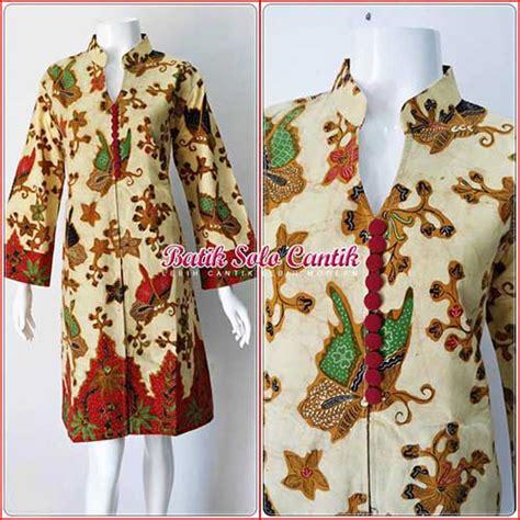 Baju Batik Tulis Baju Muslim Batik Model Batik Tulis Baju Kerja Batik