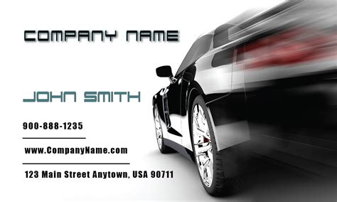 business cards car sales template racing car auto sales business card design 501071