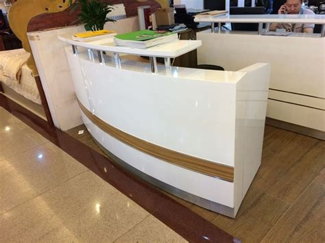 2016 New Hot Sell Modern Unique Used Cheap Office Small Modern Reception Desk For Sale