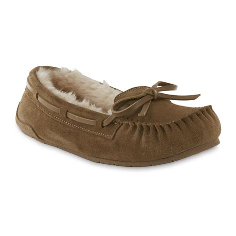 Bedroom Slippers At Kmart Bongo S Moxie Moccasin Slipper