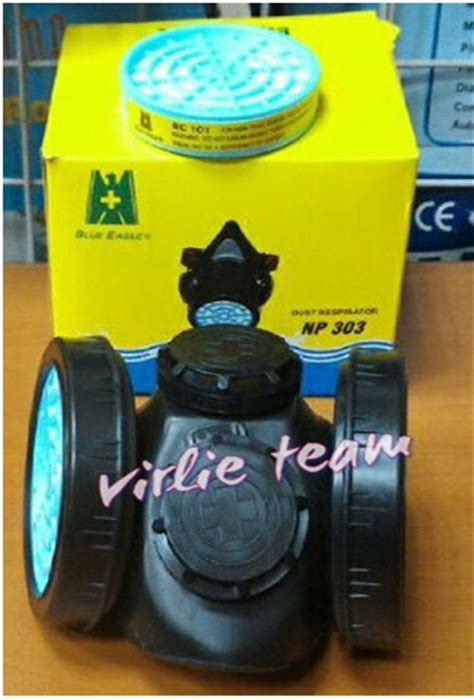 Dust Filter Reapirator Blue Eagle Rc101 Murah Di Bandung jual masker asap debu chemical respirator blue eagle np 308 original virlie engineering co