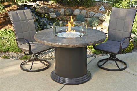 outdoor pit tables outdoor greatroom colonial fiberglass 48 pit