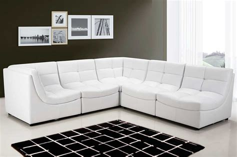 modular leather sectional sofa modular black bonded leather sectional armless chair bm