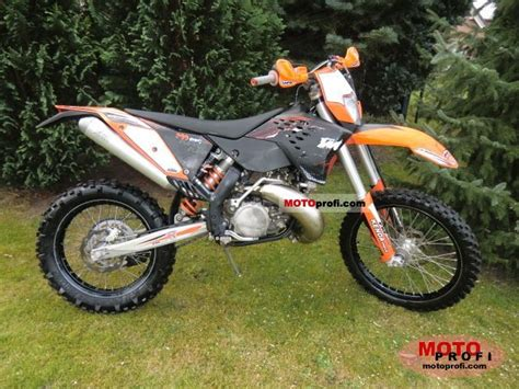 2009 Ktm 300 Exc Ktm 300 Exc 2009 Specs And Photos