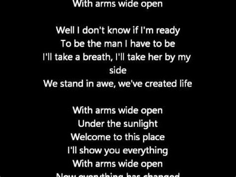 creed with arms wide open mp creed with arms wide open lyrics youtube