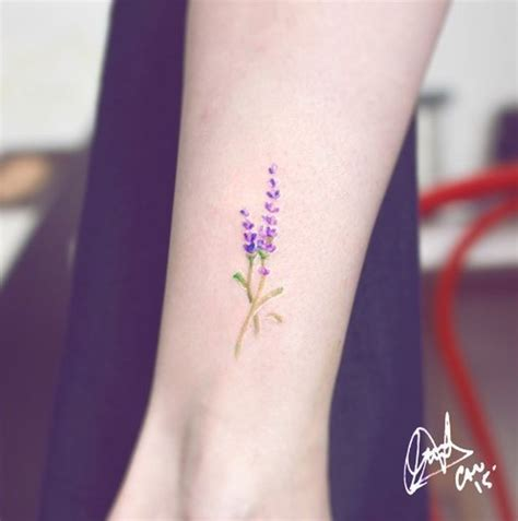 watercolor tattoo generator 1000 ideas about lavender on lilac