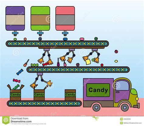 factory pattern web service candy factory stock illustration illustration of treat