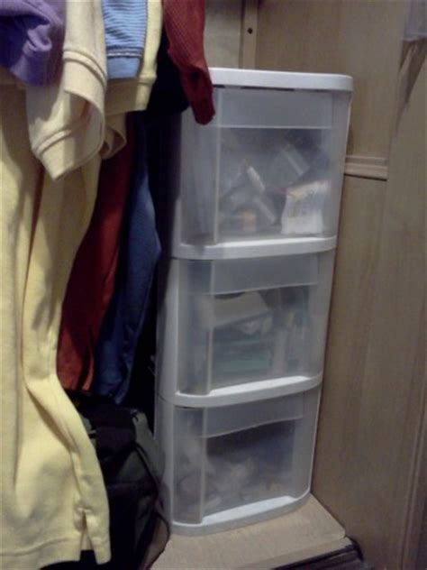 Rv Closet Organizer by Rv Storage Tips Adding Shelves And Drawers