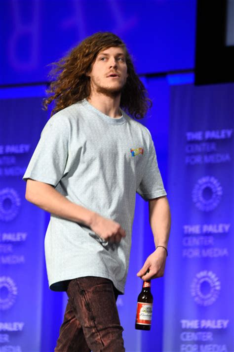 blake anderson blake anderson actor blake anderson on stage at the paley