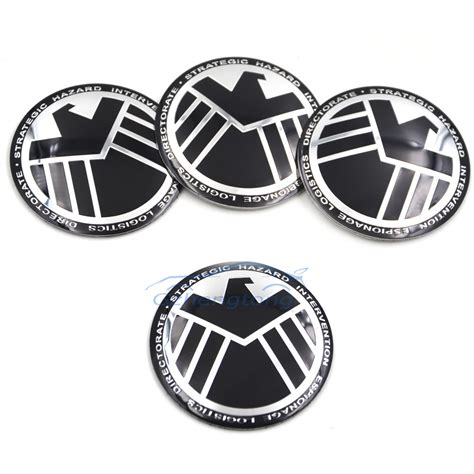 Decal Wheells Samurai Universal shield cool universal car steering wheel center hub cap