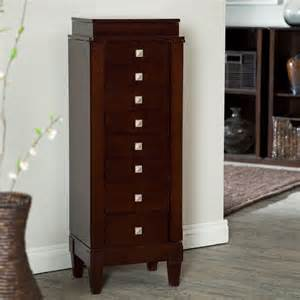 Belham Jewelry Armoire Belham Living Glendale Mahogany Jewelry Armoire At Hayneedle