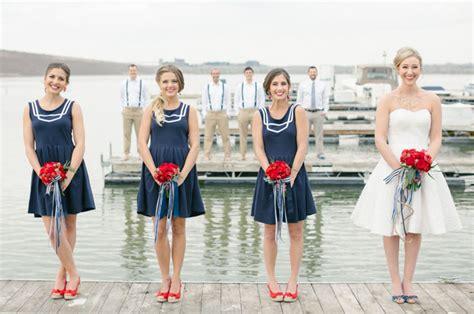 nautical themed bridesmaid dresses nautical wedding inspiration green wedding shoes