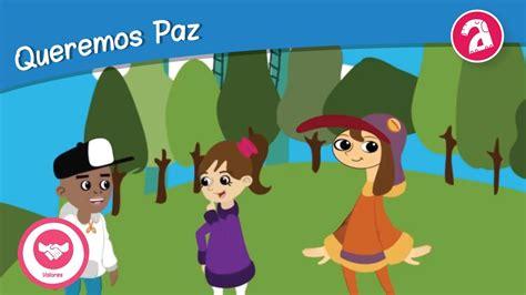imagenes infantiles sobre la paz paz valores infantiles alebrigma youtube