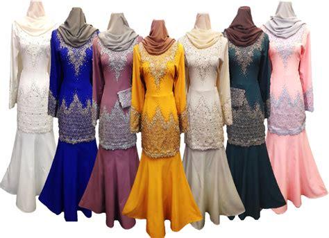 Baju Melayu Warna Orange koleksi edelweiss baju pengantin baju nikah dan tunang muslimah terkini 7 warna baju kurung