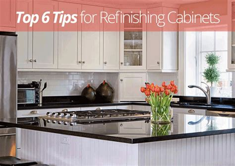 top tips for refinishing cabinets homes com
