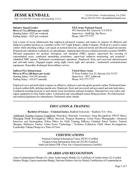 Federal Resume Template by Federal Government Resume Exle Http Www