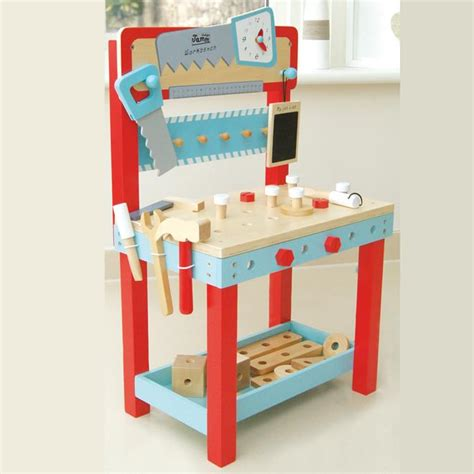 wooden work bench for children small gun safe fingerprint lock childrens wooden workbench uk