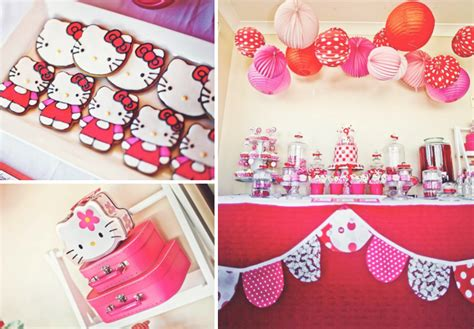 hello kitty themes party hello kitty japanese kara s party ideas