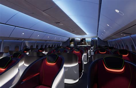 Delta 777 Interior by Boeing S New 777x Designs Intensify The Race For Space On