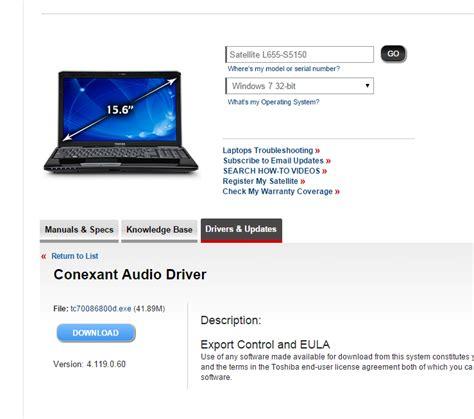 toshiba c840 drivers for windows 7 32bit livinphones