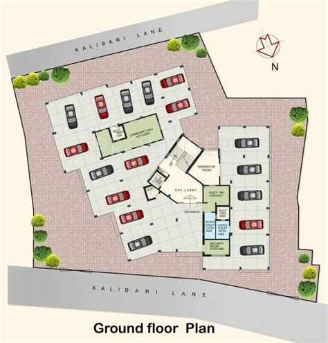 Ground Floor Industries 1349 sq ft 3 bhk 2t apartment for sale in webstar