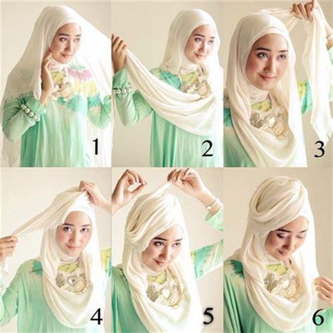 gambar tutorial hijab ala dian pelangi tutorial hijab modern dian pelangi new tutorial hijab